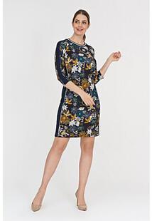 Комбинированное платье с принтом Betty Barclay 312042