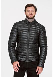Утепленная кожаная куртка Urban Fashion for Men 311136