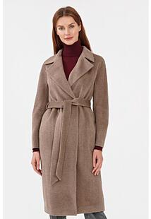 Пальто из шерсти и вискозы La Reine Blanche 307270