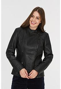 Куртка из натуральной кожи La Reine Blanche 307199