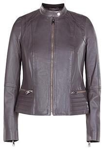 Куртка из натуральной кожи La Reine Blanche 304957