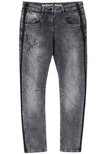 Укороченные джинсы Sandwich 302217