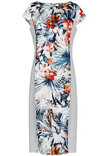 Комбинированное платье-футляр LE MONIQUE 298927