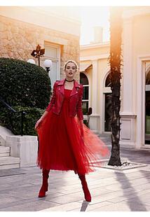 Платье с пышной юбкой La Reine Blanche 298141