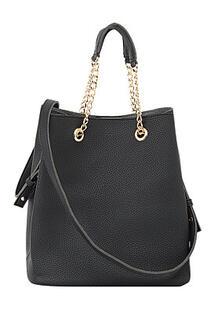 Черная сумка La Reine Blanche 294057