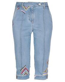 Джинсовые брюки-капри ERMANNO SCERVINO 42725386LD