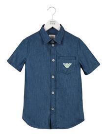 Джинсовая рубашка Armani Junior 42663777di