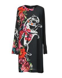 Платье до колена Cavalli Class 34861485WH