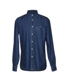 Джинсовая рубашка BORSA 42671691hp