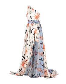 Длинное платье FAUSTO PUGLISI 34799834qa