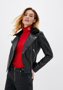 Куртка кожаная Calvin Klein CA939EWKRRR4INL