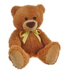 Мягкая игрушка СмолТойс Мишка 42 см цвет: коричневый 10372919