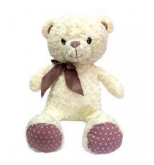Мягкая игрушка СмолТойс Мишка Лия 50 см цвет: молочный 10372949