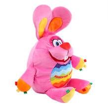 Мягкая игрушка СмолТойс Зайка-развивашка 38 см 11510188