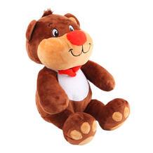Мягкая игрушка СмолТойс Медвежонок Веня 34 см цвет: коричневый 11510092