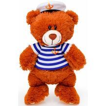 Мягкая игрушка СмолТойс Медвежонок моряк 50 см цвет: коричневый 11510116