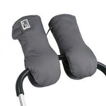 """Муфта-варежки для коляски """"MAGNET"""", темно-серый Leokid 609170"""