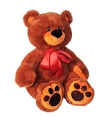 Мягкая игрушка СмолТойс Медвежонок Захар 54 см цвет: коричневый 8995933