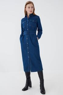 Платье джинсовое ZARINA 13205169