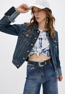 Куртка джинсовая Please PL003EWLQWP5INS