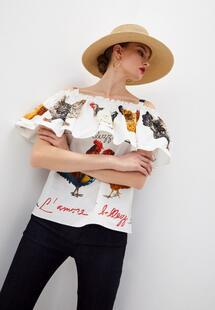 Блуза Dolce&Gabbana DO260EWLMSW4I360