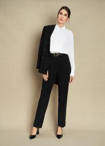 Прямые брюки из поливискозы O`Stin 184860980299