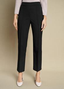 Прямые брюки из поливискозы с эластичным поясом O`Stin 184815950299