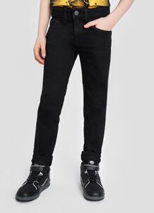 Чёрные базовые джинсы для мальчиков O`Stin 185150960299