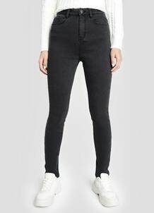 Утеплённые джинсы со стиркой O`Stin 182145000299