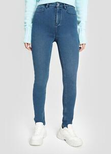 Утеплённые джинсы со стиркой O`Stin 182145020299