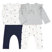 Комплект из 2 раздельных пижам LaRedoute 350146364110