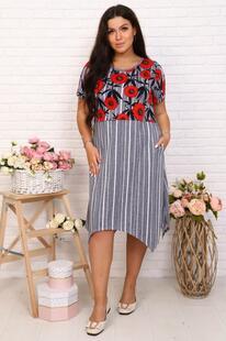 Платье трикотажное Агунда Инсантрик 44972