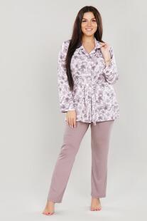 Пижама вискозная Наоми (бежевая) Инсантрик 46656