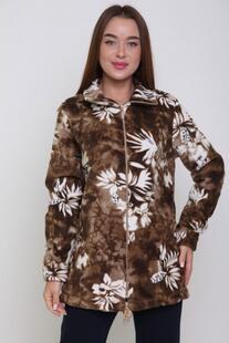 Толстовка флисовая Лара (коричневая) Инсантрик 45664