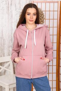 Толстовка трикотажная Аделайн (розовая) Инсантрик 48435
