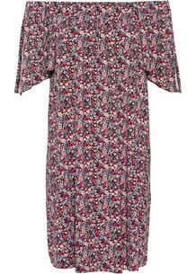 Платье с открытыми плечами bonprix 260488120