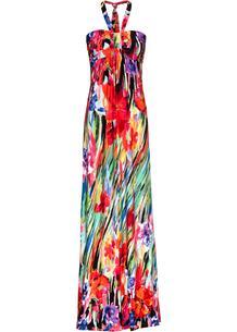 Платье бандо с принтом bonprix 262388207