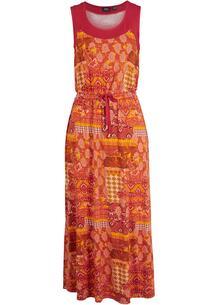 Платье миди с разрезом bonprix 265989219