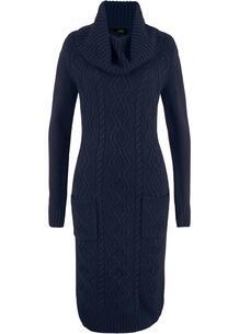 Вязаное платье с карманами bonprix 263326242