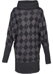 Удлиненный пуловер bonprix 261735288