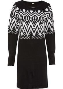 Платье вязаное bonprix 264129943