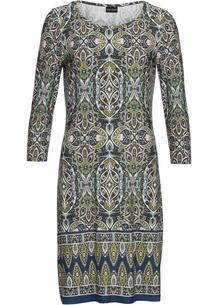 Платье трикотажное, рукав 3/4 bonprix 264883258