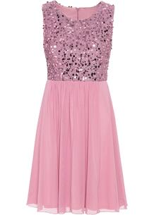 Платье с пайетками bonprix 264856262