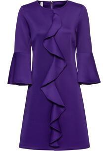 Платье с воланом bonprix 263164496