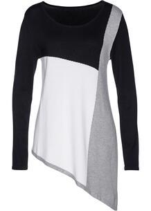 Пуловер удлиненный bonprix 266376310