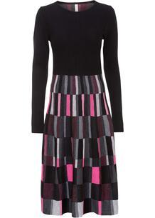 Платье вязаное bonprix 263491752