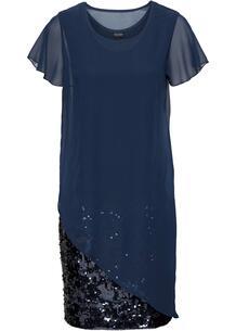 Платье с пайетками bonprix 264827990
