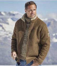 Куртка в Стиле Авиатор с Подкладкой из Шерпы AFM 2854030