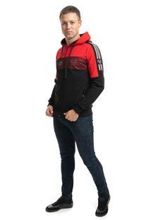 Толстовка мужская Виталий (красная) Инсантрик 45463
