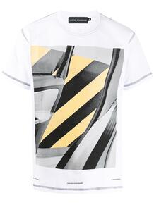 футболка с принтом UNITED STANDARD 1518689083